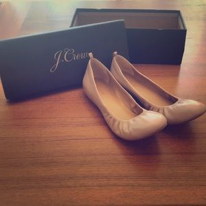 J.Crew Factory Anya Leather Pink Flats! Never Worn